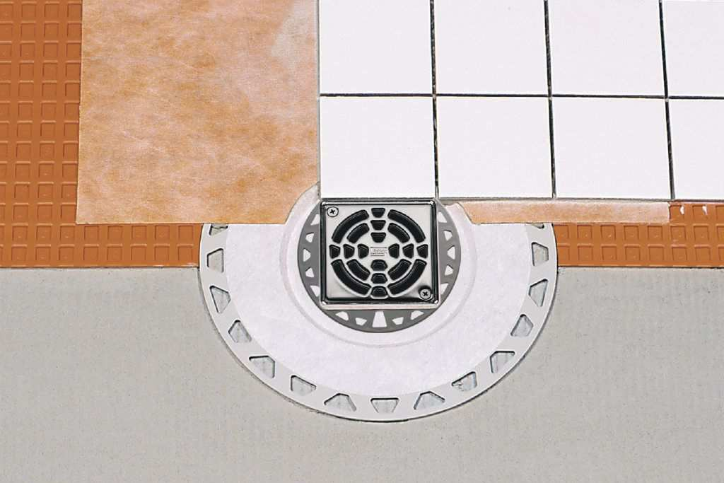 floor tile carpet shower stone schluter kerdi and one aggieland drain materials colors installation accessories