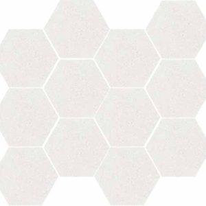 Devon Crema Hex Mosaic