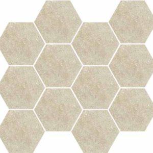 Devon Sabbia Hex Mosaic