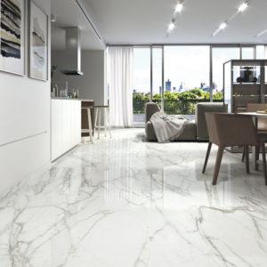 Elegance Marble Blanco 120x120 Ambient