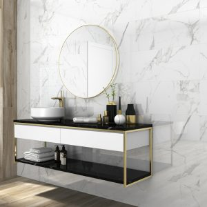 Carrara gloss marble Porcelain