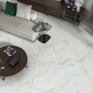 Calacatta gold gloss floor