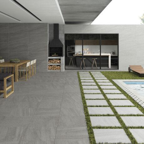 Courtyard Dark Grey Ambient 2