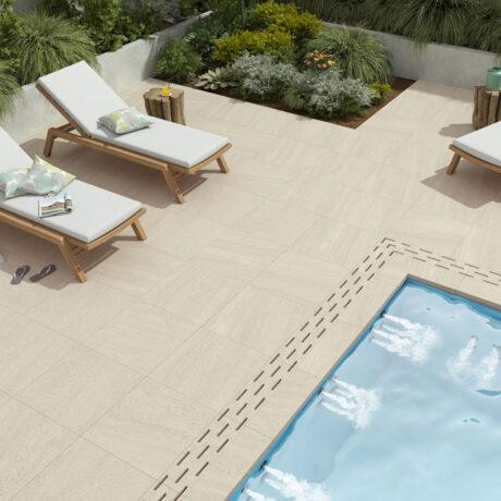 Courtyard SAND 60x60cm