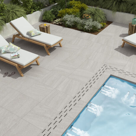 Courtyard WHITE 60x60cm