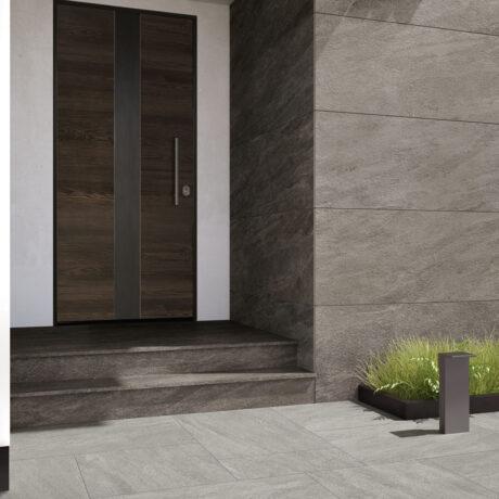 Patio Dark on wall & Light Grey on Floor