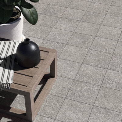 2cm thick porcelain paving
